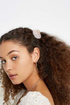 Margherita Bella Shell Hair Clip - pink at Urban Outfitters