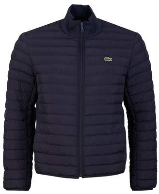 Lacoste Light Quilted Jacket Colour: NAVY, Size: SMALL