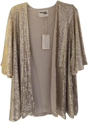 Non Signã© / Unsigned Kimono Gold Cotton Jackets