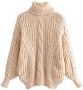 Goodnight Macaroon 'Brenda' Bishop Sleeve Turtleneck Sweater (5 Colors)