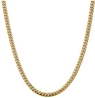 "14K Gold 28"" Cuban Link Necklace, 50.0g"