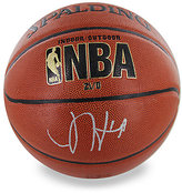 Steiner Sports James Harden Signed NBA Basketball & Glass Display Case