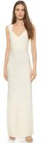 Herve Leger Estrella Sleeveless Gown
