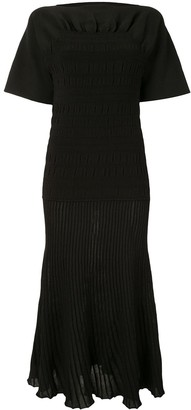 Proenza Schouler Smocked Knit Dress