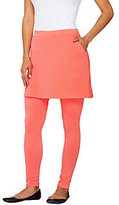 Legacy As Is French Terry Ankle Length Skirted Leggings