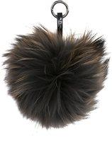 N.Peal fur keyring - women - Racoon Fur - One Size