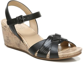 Naturalizer Adelina Wedge Sandal - Wide Width Available
