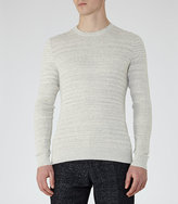 Reiss Corbit Fine Ribbed Jumper