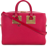 Sophie Hulme Cromwell bowling bag - women - Leather - One Size