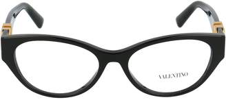 Valentino Eyewear Oval Frame Glasses