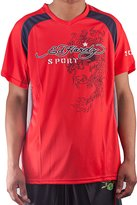 Ed Hardy Men's Shooter Mesh V-neck Tee Top