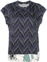 Marni patterned T-shirt - women - Cotton - 38
