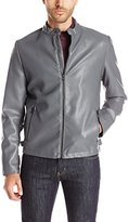 Kenneth Cole Reaction Men's Perf Plthr Moto