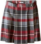 Dolce & Gabbana Back to School Quadricheck Tartan Skirt (Big Kids)