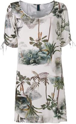 Lygia & Nanny Batuira printed jersey tunic