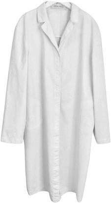 Miu Miu White Cotton Coat for Women