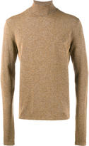 John Lawrence Sullivan speckled roll neck knit - men - Rayon/Nylon/Polyurethane - S
