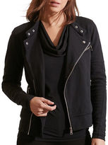 Lauren Ralph Lauren French Terry Moto Jacket