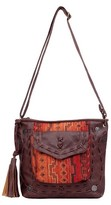"Fab 10.5"" Cross Body Bags - Cinnamon"
