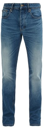 Ami Faded Slim-fit Jeans - Mens - Denim