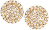 Jamie Wolf Scalloped Pave Diamond Stud Earrings
