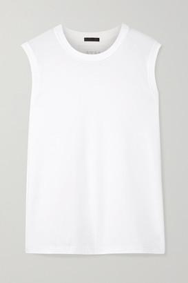 ATM Anthony Thomas Melillo Boy Cotton-jersey Tank - White