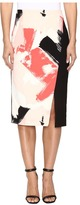 Ellen Tracy Asymmetrical Pencil Skirt Women's Skirt