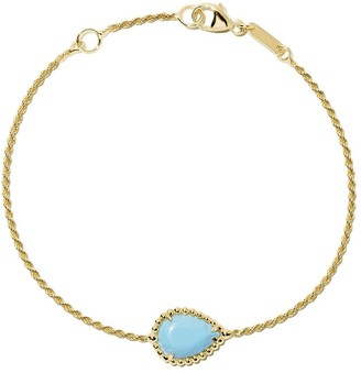 Boucheron 18kt yellow gold Serpent Bohème turquoise bracelet