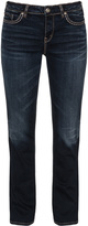 Silver Jeans Plus Size Aiko straight cut jeans