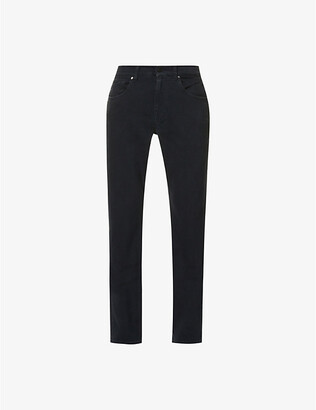 7 For All Mankind Slimmy Luxe Performance faded slim-fit jeans