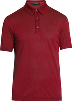 Ermenegildo Zegna Short-sleeved cotton polo shirt