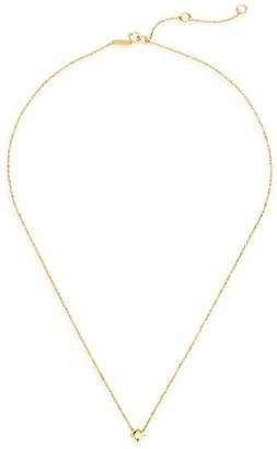 Celara 14K Yellow Gold Star Pendant Necklace