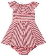Ralph Lauren Girls' Striped Dress & Bloomers Set - Baby