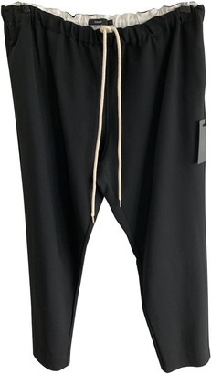 Bassike Black Trousers for Women
