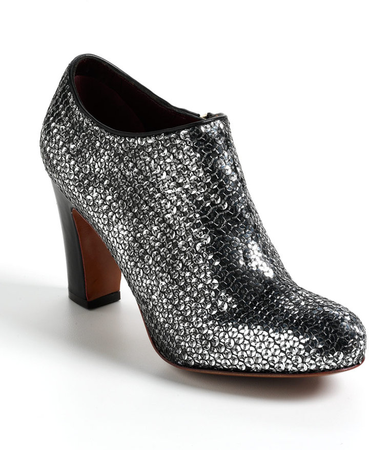 Marc by Marc Jacobs Sequin Ankle Boots