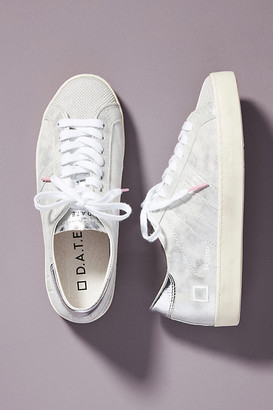 D.A.T.E Silver Hill Sneakers By in Silver Size 36