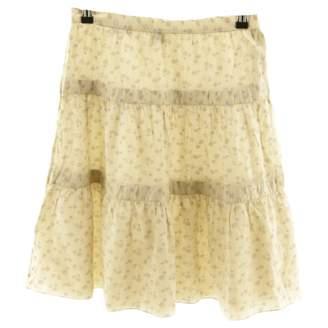 Marc Jacobs Beige Cotton Skirts