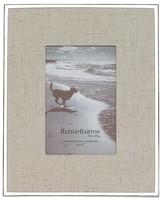 """Reed & Barton Linen Frame, 4"""" x 6"""""""