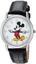 Disney Men's 'Mickey Mouse' Quartz Metal Casual Watch