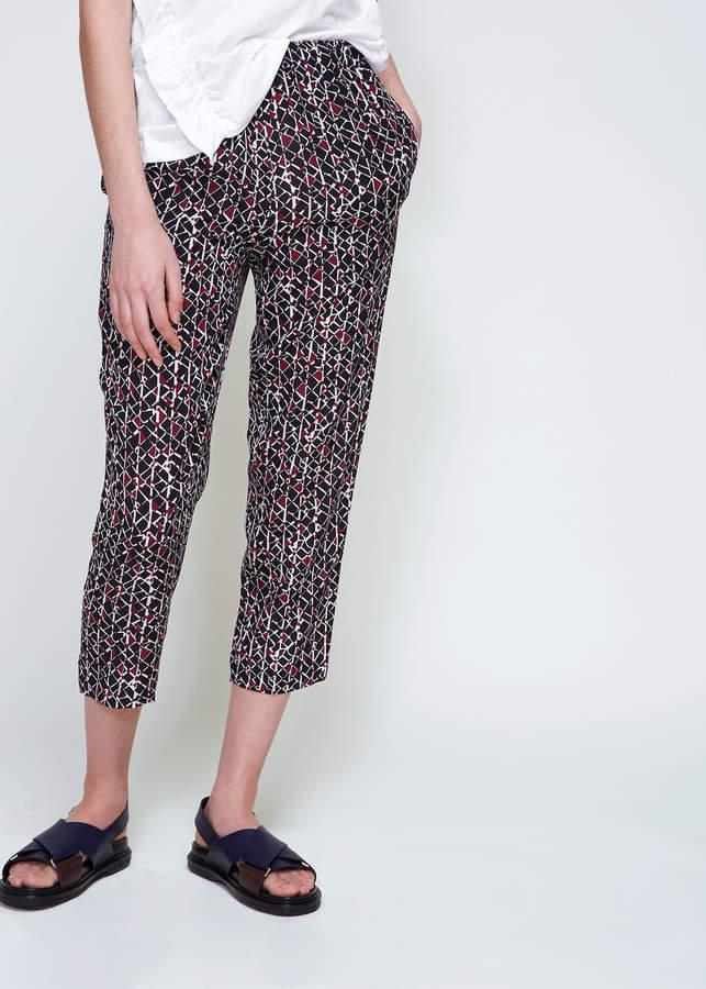 Marni Elastic Waist Pajama Pant