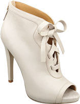 Enetta Peep-Toe Booties