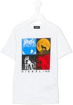 Diesel Trigg T-shirt - kids - Cotton - 6 yrs