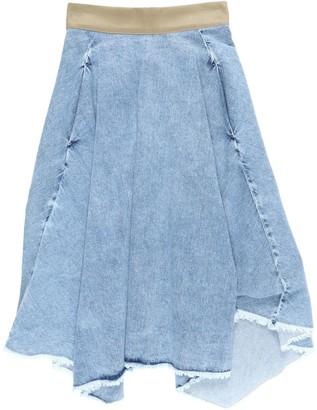 Nine In The Morning NINE: INTHE: MORNING Denim skirts