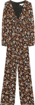 MICHAEL Michael Kors Printed Crepe Jumpsuit