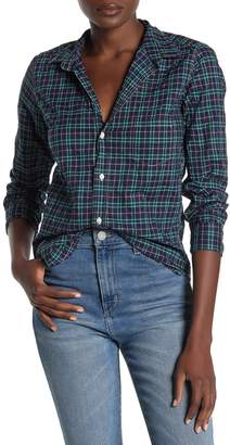Frank And Eileen Barry Plaid Button Down Long Sleeve Shirt