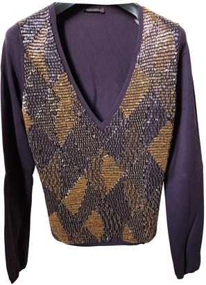 Ballantyne Purple Silk Top for Women