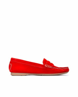 Martinelli Leather Loafers LEYRE 1413 Red