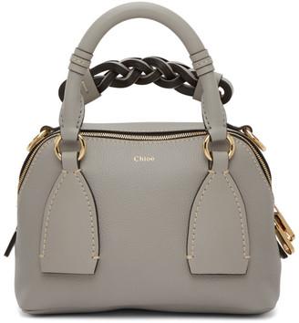 Chloé Grey Small Daria Bag