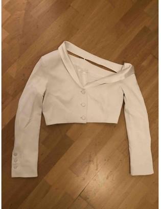 Jonathan Simkhai White Jacket for Women