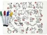 Modern Twist Alphabet Animals and Four Dry Erase Markers Kidz Box